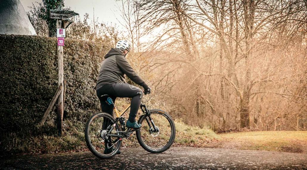 Fahrradfahren im Hunsrück