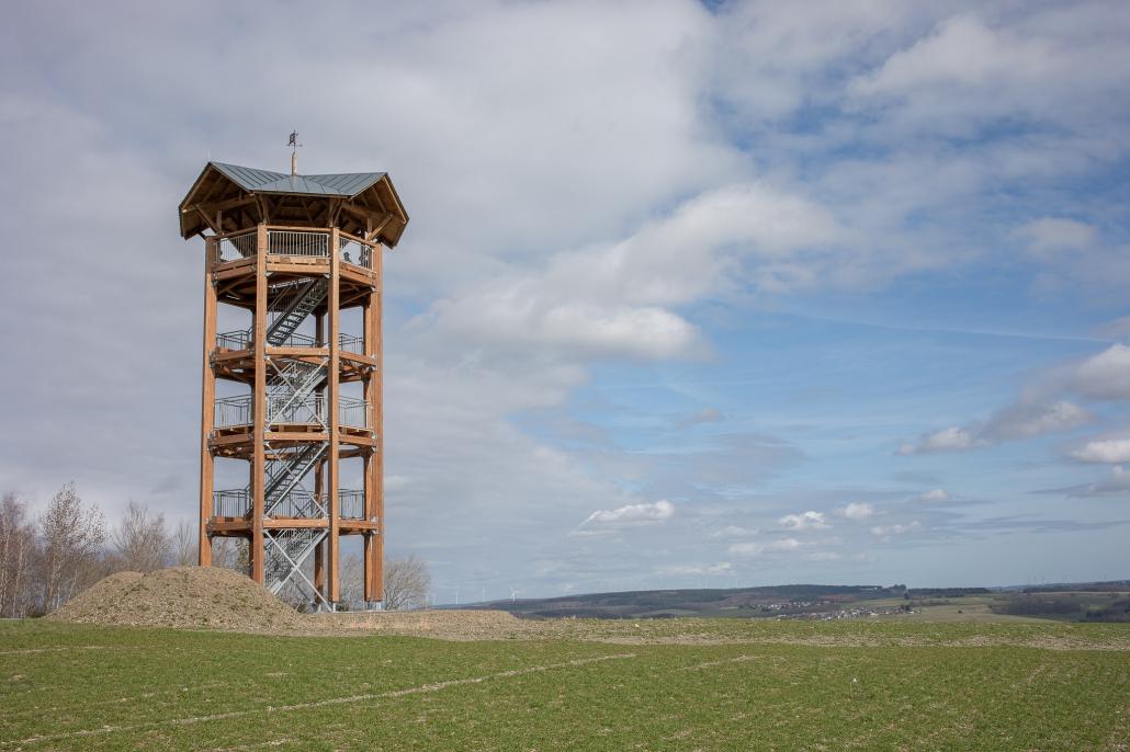 "Aussichtsturm ""Nationalparkblick"" bei Rascheid"
