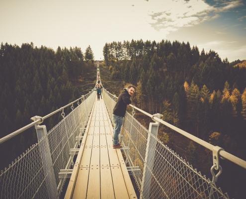 Die Hängeseilbrücke im Hunsrück - Geierlay