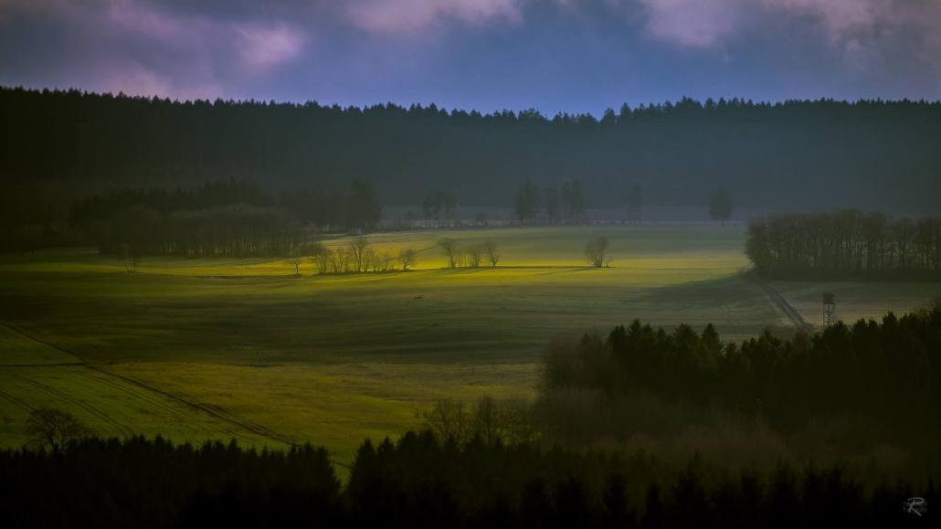 Lichtspiele auf den weiten Flächen des Hunsrücks - Landhaus HEIMISCH
