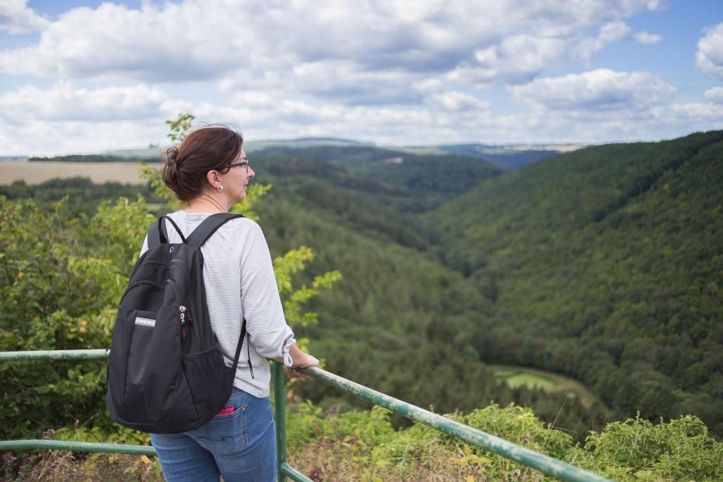 """Traumschleifen Hunsrück - Die Ruhe und Weite des Hunsrücks erfährt man am besten auf den zahlreichen Premiumwanderwegen """"Traumschleifen"""" - Das Landhaus HEIMISCH ist ein idealer Ausgangspunkt für einen Wanderurlaub im Hunsrück"""