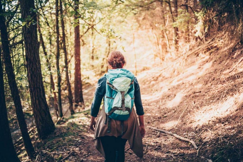 """Wandern in Rheinland-Pfalz - Die Ruhe und Weite des Hunsrücks erfährt man am besten auf den zahlreichen Premiumwanderwegen """"Traumpfaden"""" - Das Landhaus HEIMISCH ist ein idealer Ausgangspunkt für einen Wanderurlaub im Hunsrück"""