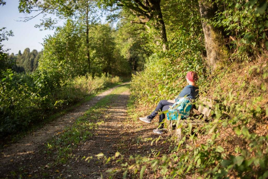"""Jeder findet hier """"sein Plätzchen"""" auf den Wanderwegen rund um Geisfeld"""