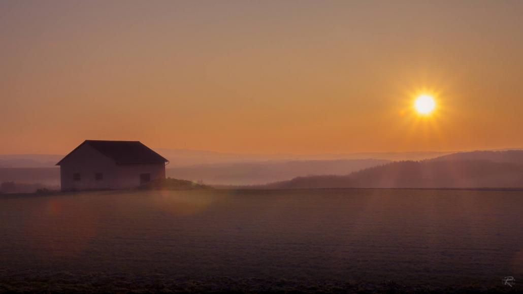 Romantische Sonnenuntergänge im Hunsrück - Landhaus HEIMISCH