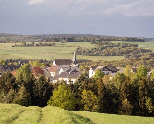 Geisfeld ein idyllisches Dorf im Hunsrück / Hochwald