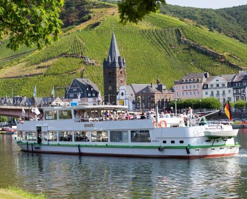 Schiffstouren nach Bernkastel-Kues - Landhaus HEIMISCH