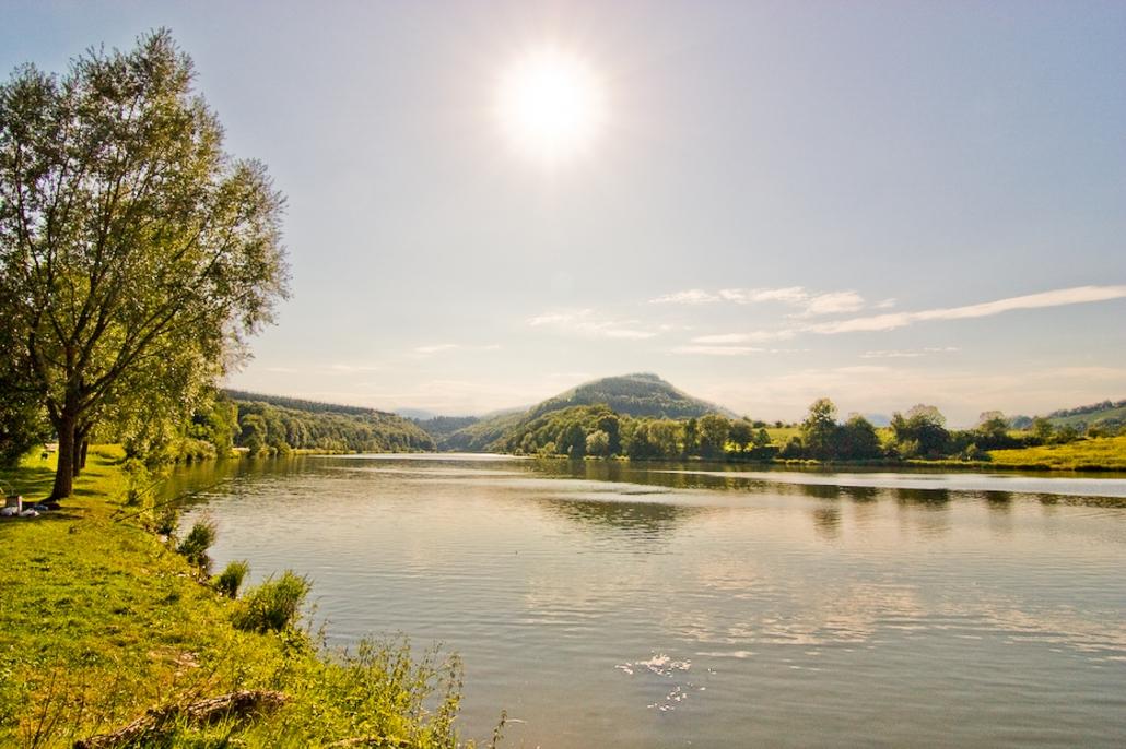 Die Saar - Das Landhaus HEIMISCH ist ein idealer Ausgangspunkt für einen Wanderurlaub im Hunsrück