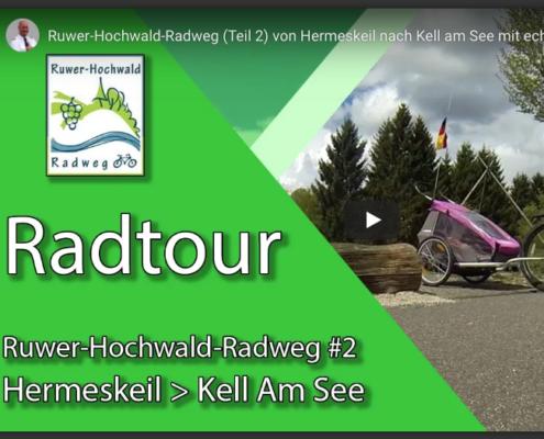 Ruwer-Hochwald-Radweg von Hermeskeil nach Kell am See - von Radler Jörg