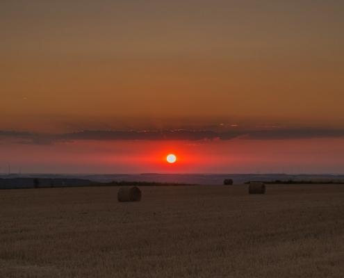 Sonnenuntergänge im Hunsrück haben schon etwas besonderes - Landhaus HEIMISCH