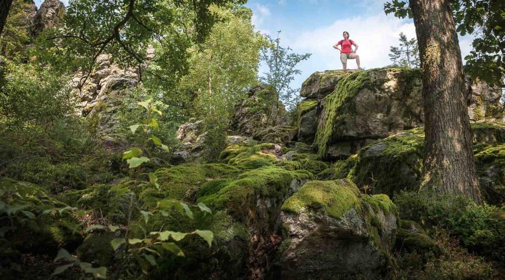 """Wandern im Hunsrück - Die Ruhe und Weite des Hunsrücks erfährt man am besten auf den zahlreichen Premiumwanderwegen """"Traumschleifen"""" - Die Pension im Hunsrück - Das """"Landhaus HEIMISCH"""" ist ein idealer Ausgangspunkt für einen Wanderurlaub im Hunsrück"""