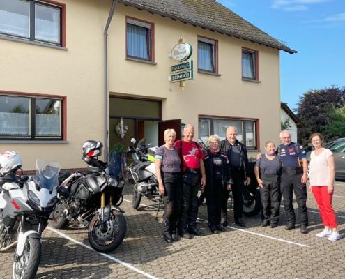 """Bikers welcome! in der Pension """"Landhaus HEIMISCH"""""""