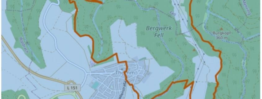 Traumschleifen im Hunsrück - Der Schiefer-Wackenweg - (c) OpenStreetMap