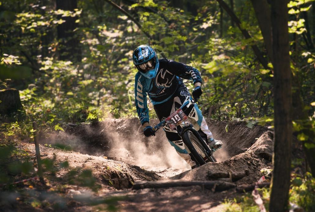 Der Trailpark für Mountainbiker am Erbeskopf